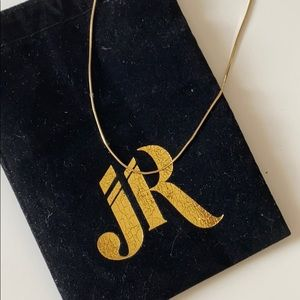 Jordan Road silk chain necklace